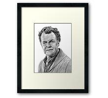 Walter Bishop Framed Print