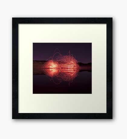 ~ SLINKY battle ~ Framed Print