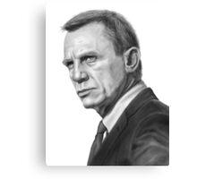 Daniel Craig (James Bond) Canvas Print