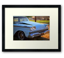 Classic baby blue Framed Print