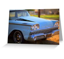 Classic baby blue Greeting Card