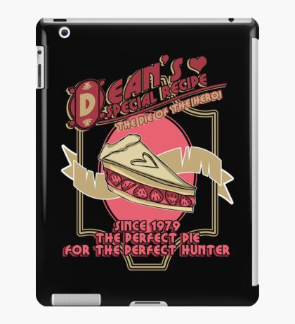Dean's Special Recipe iPad Case/Skin