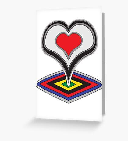 De Rosa Greeting Card