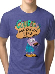 Courage's Modern Life Tri-blend T-Shirt