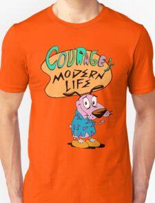Courage's Modern Life T-Shirt