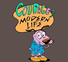 Courage's Modern Life T-Shirt
