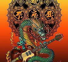 Dragon guitar  by kuuma