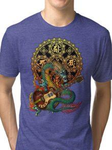 Dragon guitar  Tri-blend T-Shirt