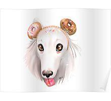 Sprinkle Sugar Pup Poster