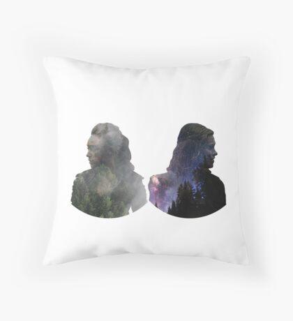 Clexa - The 100 Throw Pillow