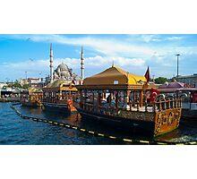 Eminonu, Istanbul Photographic Print