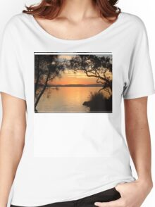 Myall Sunset Tee Women's Relaxed Fit T-Shirt