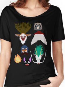 Ghibli characters ~ 2 Women's Relaxed Fit T-Shirt