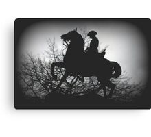 Australian Light- Horsemen Canvas Print