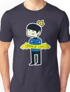 Spock - 'Queen of Logic' Unisex T-Shirt
