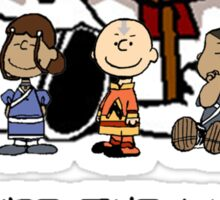 You're the Last Airbender, Charlie Brown! Sticker