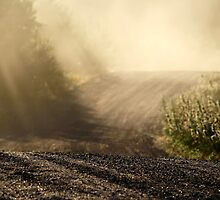 6.7.2013: Dusty Road by Petri Volanen