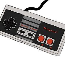 NES Controller by retropixelart