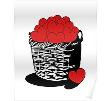 A basket-full of LOVE! Poster