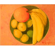 """Yellow Fruit No.2"" Photographic Print"