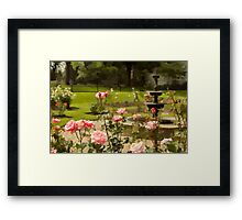 June's Flower Framed Print