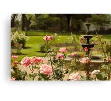 June's Flower Canvas Print