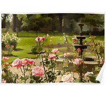 June's Flower Poster