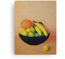 """Yellow Fruit No.1"" Canvas Print"