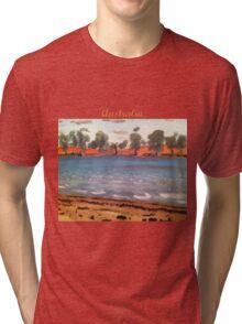 Australia's Desert Outback Tri-blend T-Shirt