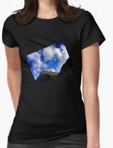 sky flying high Womens Fitted T-Shirt