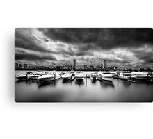 stormy boston Canvas Print