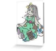 Voodoo Girl Greeting Card