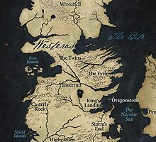 Map of Westeros by Dejay