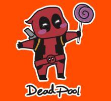 Chibi Deadpool with a lollipop  Kids Clothes
