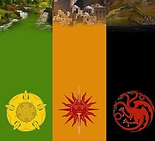 Houses of Westeros by Dejay