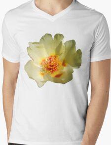Colours Flower Mens V-Neck T-Shirt