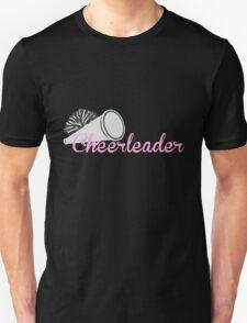 Cheerleader with Megaphone Unisex T-Shirt