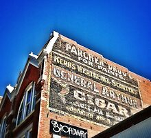 Parchen Drug Ghost Sign by Sue Morgan
