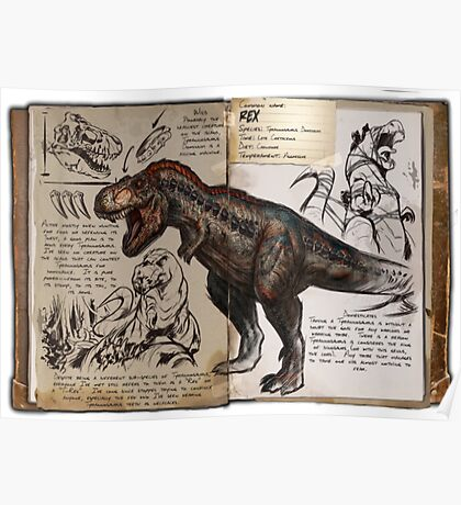 Ark T-Rex Poster