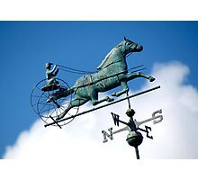 Riding through the clouds, Goshen New York  Photographic Print