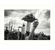 Occupy Gezi Park - Protests Against Turkish Government Art Print