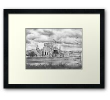 The Abbey by Gary Rudisill Framed Print