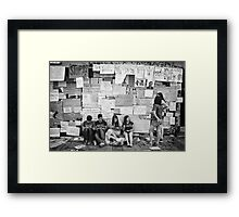 Occupy Gezi Park - Protests Against Turkish Government Framed Print