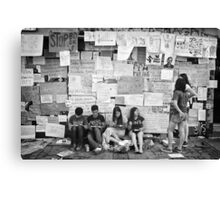 Occupy Gezi Park - Protests Against Turkish Government Canvas Print