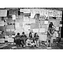 Occupy Gezi Park - Protests Against Turkish Government Photographic Print