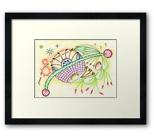 Try-out Framed Print