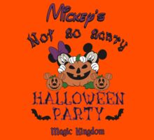 Mickey's not so scary Halloween party by sweetsisters