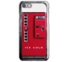 Old Vending Machine  iPhone Case/Skin
