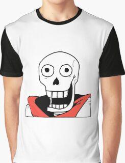 Undertale - Papyrus Stupid Face Graphic T-Shirt