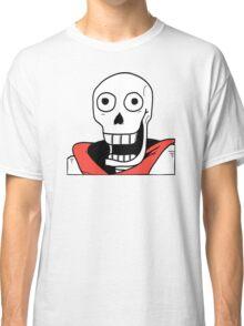 Undertale - Papyrus Stupid Face Classic T-Shirt